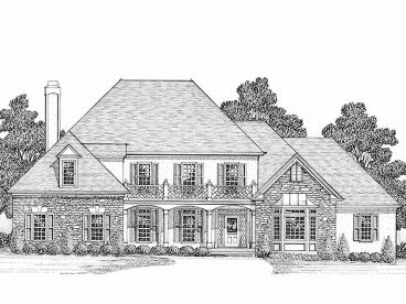 Luxury House Plan, 007H-0110