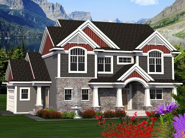 Family Home Design, 020H-0380