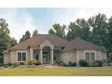 One-Story House Plan, 031H-0029