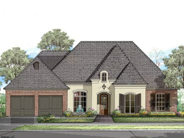 European House Plan, 079H-0013