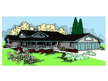 Ranch House Plan, 013H-0012
