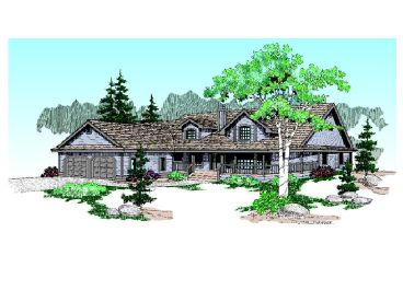 Country Home Design, 013H-0013