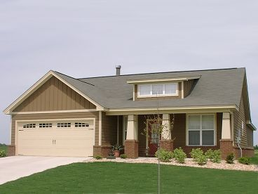 Bungalow House Plan, 073H-0092