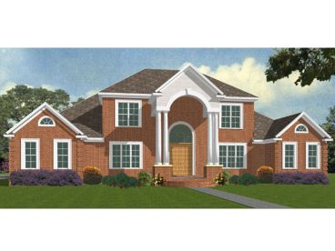 Luxury House Plan, 073H-0031