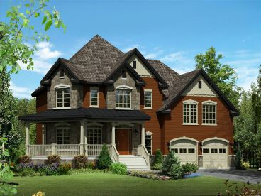 Two-Story Home Plan, 072H-0156