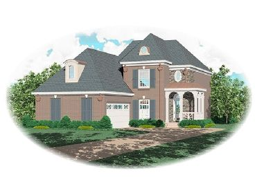 2-Story House Plan, 006H-0047