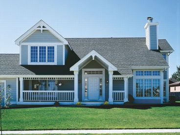Country House Plan, 022H-0047