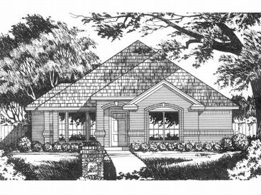 Affordable Home Plan, 015H-0106