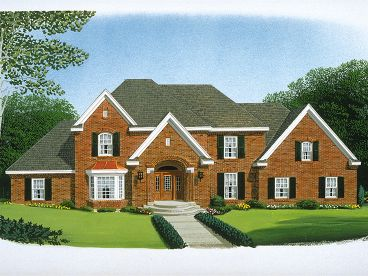 Traditional House Plan, 054H-0015