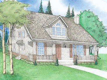 Narrow Lot Home Plan, 009H-0049