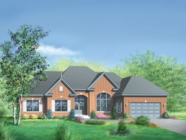 Ranch House Plan, 072H-0041