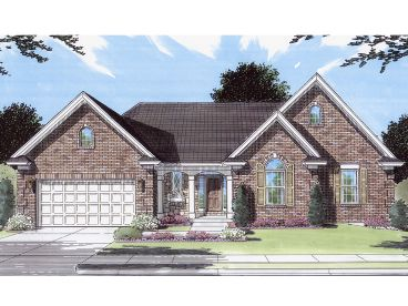 Traditional House Plan, 046H-0123
