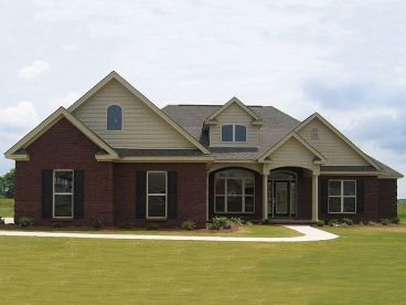 Ranch House Plan Photo, 073H-0012
