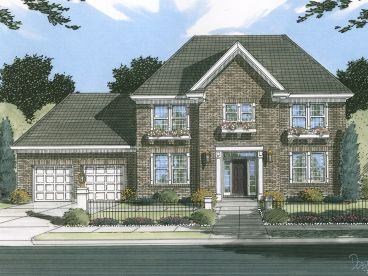 Two-Story Home Plan, 046H-0124