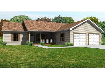 Affordable Home Plan, 048H-0036