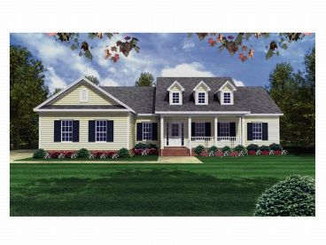 Country Home Plan, 001H-0061