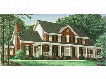 Country Home Design, 011H-0027