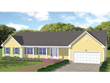 One-Story House Plan, 078H-0008