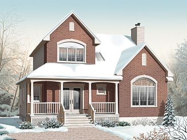 Narrow Lot House Plan, 027H-0217