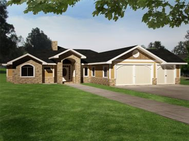 Empty-Nester House Plan