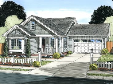 Small Home Plan, 059H-0178