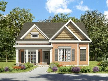 Traditional House Plan, 019H-0194