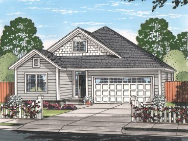 Traditional House Plan, 059H-0202