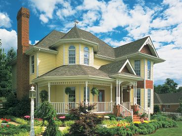 Victorian House Plan, 054H-0112