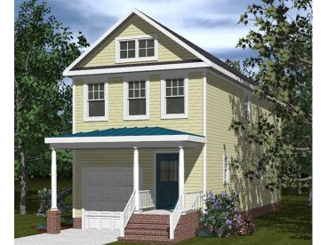 Affordable House Plan, 058H-0064