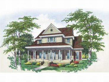 Country House Plan, 021H-0119