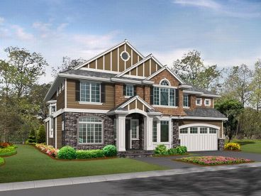 European Home Plan, 035H-0025
