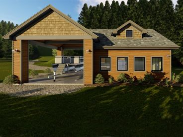 Vacation House Plan, 050H-0146