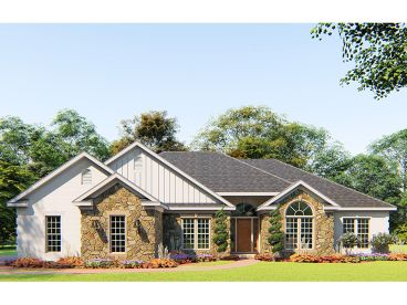 Ranch House Plan, 074H-0121