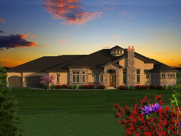Premier Luxury House Plan, 020H-0387
