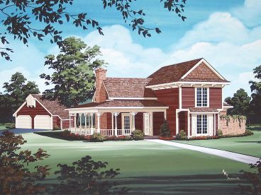 Country House Plan, 021H-0211