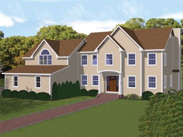 Luxury Home Plan, 068H-0026