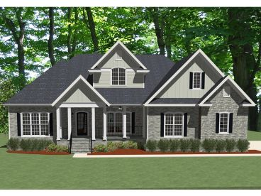 Traditional House Plan, 067H-0009
