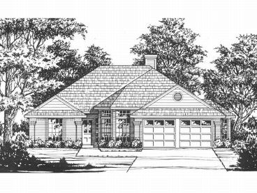Affordable House Plan, 015H-0108