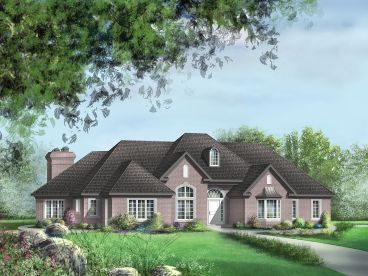 European House Plan, 072H-0049