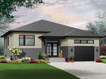 Empty-Nester Home Plan, 027H-0383