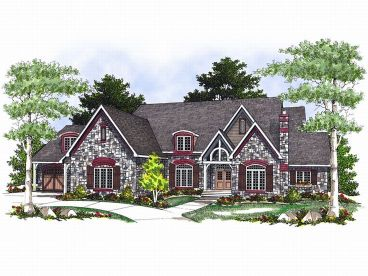 Luxury House Plan, 020H-0063