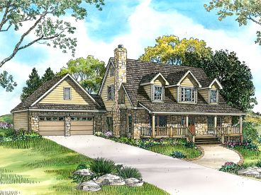 Country House Plan, 008H-0018