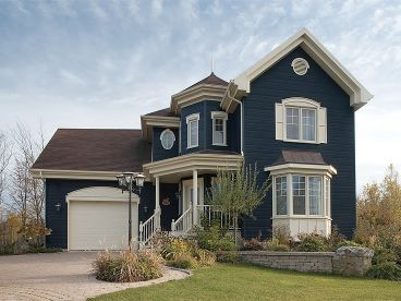 2-Story Home Plan Photo, 027H-0202
