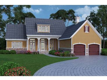 European House Plan, 021H-0230