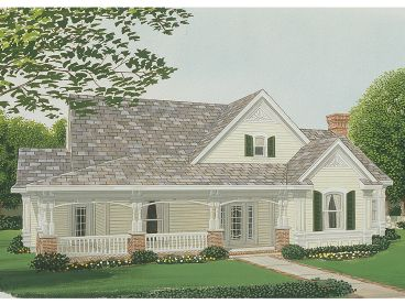 Country House Plan, 054H-0030