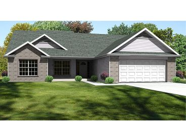 Ranch House Plan, 048H-0045