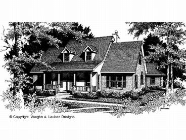 Country Home Plan, 004H-0088