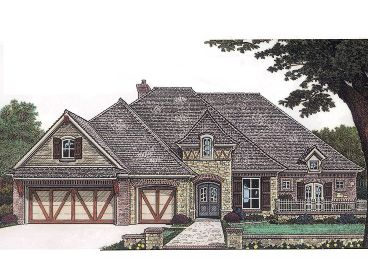 1-Story House Plan, 002H-0042