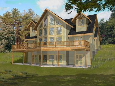Mountain Home Plan, 012H-0058
