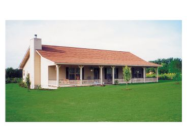 Country House Plan, 047H-0012